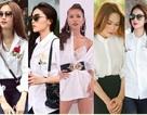 Cùng diện sơ mi trắng giản dị, mỹ nhân Việt nào đẹp hút hồn nhất?