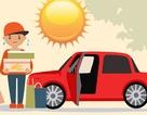 Những thứ không nên để trong ôtô khi trời nắng nóng
