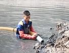 Hà Nội: Nạo vét hàng nghìn mét khối bùn dưới lòng sông Tô Lịch