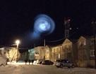 Quả cầu ánh sáng khổng lồ trên bầu trời Nga