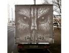 Nghệ sĩ biến những chiếc xe phủ bụi thành tác phẩm nghệ thuật