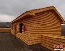 Ngôi nhà kỳ lạ gây chú ý khi làm từ 20,000 bắp ngô