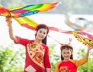 Hoa hậu Ngọc Hân khoe vẻ dịu dàng giữa đồng quê xứ Huế