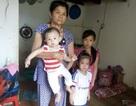 Cha nguy kịch, 3 đứa trẻ sắp bị đẩy ra đường
