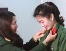 Tốt nghiệp 2 trường ĐH, cô gái xứ Thanh đăng ký nhập ngũ