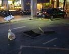 Hố gas phát nổ giữa trung tâm Sài Gòn, thổi bay nắp đậy nặng cả tạ