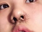 Xu hướng làm đẹp mới: Chán lông mi cong giờ nhấn sang... lông mũi