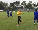 Đội tuyển nữ Việt Nam thoải mái trước trận đấu với Myanmar