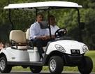 Tổng thống Indonesia lái xe điện chở ông Obama