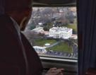 Ông Obama từ biệt Nhà Trắng từ trên trực thăng