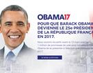 Người Pháp muốn bầu ông Obama làm tổng thống
