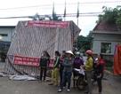Dân dựng lều chặn cổng, phản đối công ty gỗ gây ô nhiễm