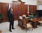 Tổng thống Putin lần đầu hé lộ phòng làm việc bí mật trong điện Kremlin