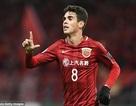 """Oscar """"nổ súng"""" ngay trong trận ra mắt CLB Trung Quốc"""