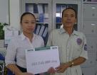 Hơn 103 triệu đồng đến với gia đình hiệp sĩ giao thông Hồ Văn Điều