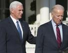 Phó Tổng thống Mỹ Biden đón tiếp người kế nhiệm tại Nhà Trắng