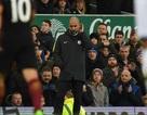 Pep Guardiola lập kỷ lục buồn sau thảm bại 0-4 trước Everton