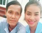 Phạm Hương ăn chay cầu nguyện vì cha ốm nặng