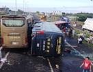 Nhiều ô tô tông nhau trên cao tốc, 10 người nhập viện