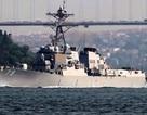 Chiến hạm Mỹ vào Biển Đen sau tuyên bố của Nga