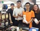 Sinh viên chế tạo máy in 3D phục vụ đời sống