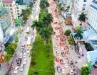 Hà Nội xén dải phân cách đường đẹp nhất Việt Nam để chống ùn tắc