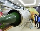 """Tên lửa, máy bay MiG-21 được trưng bày tại triển lãm """"Đánh thắng B52"""""""