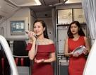 """Đông Nhi gây bất ngờ trên """"chuyến bay Tài Lộc"""" ngày đầu năm"""