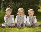 Hy hữu ca sinh ba không thụ thai cùng thời điểm
