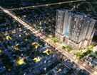 Hòa Phát cất nóc tòa tháp cao nhất của chung cư Mandarin Garden 2