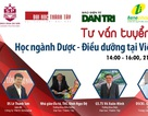 Chiều nay, tư vấn hướng nghiệp về học ngành Dược - Điều dưỡng tại Việt Nam