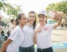 Hoa hậu Đỗ Mỹ Linh và Top 10 Kiều Vỹ tham gia Ngày chạy bộ Olympic
