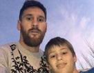 Messi biến giấc mơ của fan nhí thành sự thật