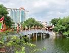 Hà Nội: Cận cảnh ngôi đền mới được phục dựng trên mặt hồ Trúc Bạch