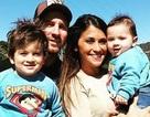 """Vợ chồng Messi hân hoan """"báo hỉ"""" với người hâm mộ"""