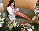Hơn một tuần sau sinh, bạn gái C.Ronaldo đã đi tập để lại dáng