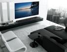 5 mẫu phòng khách tuyệt đẹp với TV OLED siêu mỏng