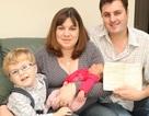 Sinh con gái đầu tiên trong dòng họ hơn 100 năm chỉ toàn con trai