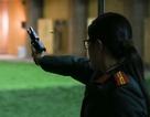 """Các thiện xạ Cảnh vệ CAND phô diễn kĩ năng bắn súng """"bách phát, bách trúng"""""""