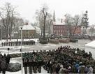 Chùm ảnh lính Mỹ được chào đón tại Ba Lan