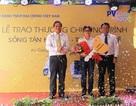 PVcomBank trao giải xe máy Vespa cho khách hàng Long Xuyên