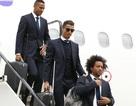 Dàn sao Real Madrid đổ bộ xuống Cardiff