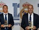 Thầy trò Zidane và C.Ronaldo được bầu hay nhất châu Âu