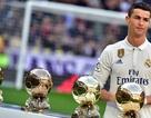 Đêm nay trao giải Quả bóng vàng 2017: Khó thoát khỏi tay C.Ronaldo?