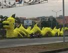 Rồng vàng đầu... Pikachu gây xôn xao dư luận Hải Phòng