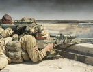 Xạ thủ Anh hạ gục 3 tay súng IS chỉ với một viên đạn