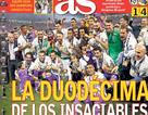 Báo chí thế giới hết mực ngợi ca HLV Zidane và C.Ronaldo