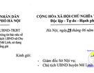 Hà Nội: Làm rõ thông tin Phó Chủ tịch xã 10 năm dùng bằng giả
