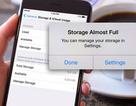 4 lý do khiến dung lượng trên iPhone luôn đầy một cách khó hiểu