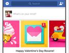 Chơi tính năng độc trên Facebook trong ngày lễ Valentine
